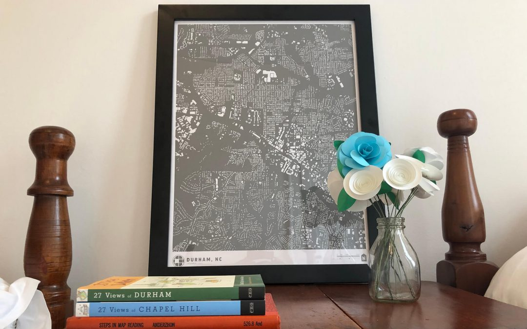 Decorating with Maps to Enhance Guest Experience