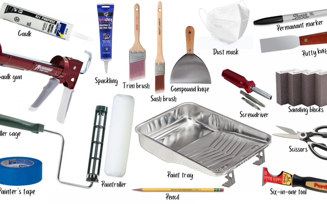 The Essential DIY Paint Equipment List