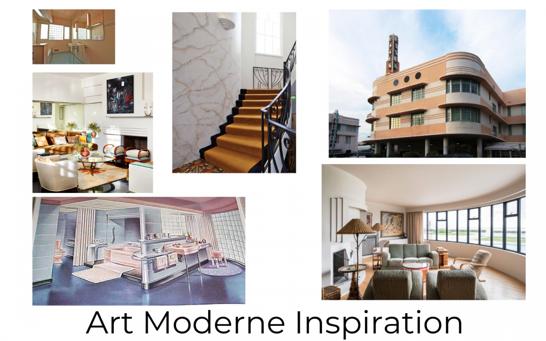 Appointed Like This: In the Works – An Art Moderne Inspired Bathroom